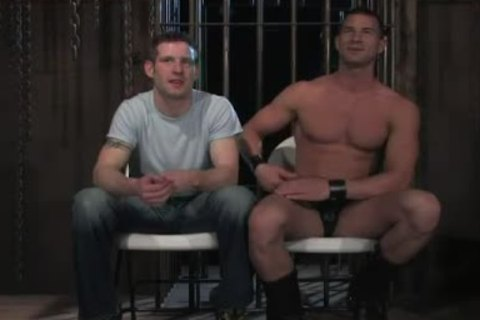 shackled In Wood homo ass aperture Rougly poked