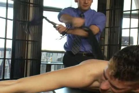 impure gay man receives tied Up And wazoo nailed In Public