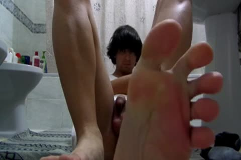 Teenboy Trying To Fist Himself