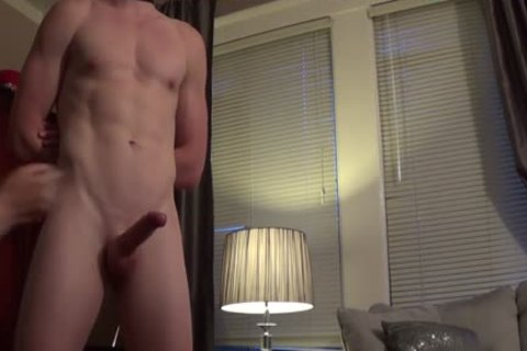 Alex (Fit 23-year older jock) Returns For A Session.   Here In Part 1 he's Teased And Milked Like A Cumcow For His First Load.   Stay Tuned For Part 2 In Which he Cums 4 more Times.   *** Remember To favourite If u Like The video So Others Can dis