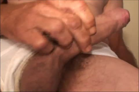 Just A scarcely any Minutes Of A video I Have, An old ugly guy Shows His pretty large Uncut messy penis And messy ass