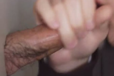 I have Seen plenty of dongs, But I have not ever Seen An Intact weenie With This Much Hair On It. guy Needs To Trim! Otherwise It Was A good weenie. he Was Real Shy When Anyone Else Walked In The Restroom. I Don?t Know Why twinks Do That? As long As