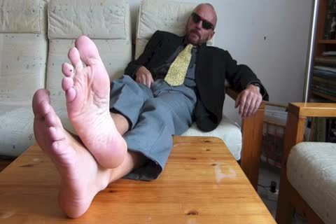 Back From The Office  . nude Feet And jerking off