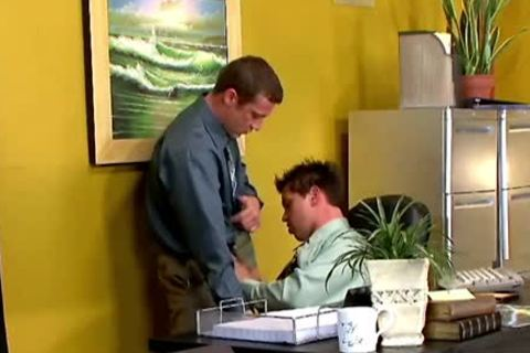 lustful homosexuals Having Sex In The Office At Work