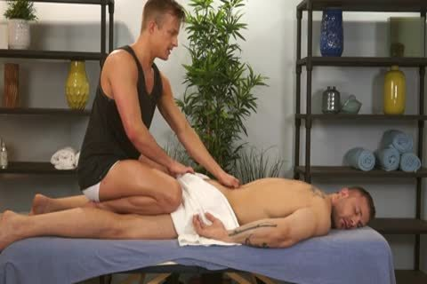 Austin Wolf And Skylar West In A dirty homosexual Porn Massage