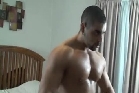 powerful Muscle Hunk tied And Tickled - Angelo Antonio