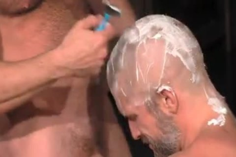 Muscle Blokes shaved blowjob
