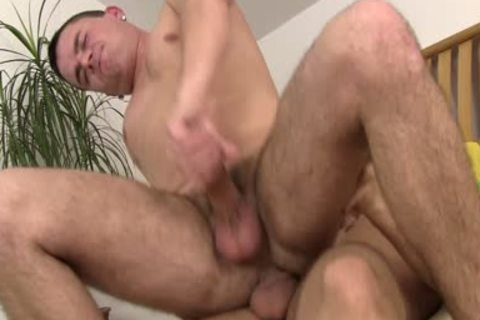 A homosexual pair Who Love anal invasion In bed
