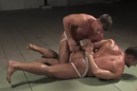 [GVC 052] Muscly guys Wrestling Hard