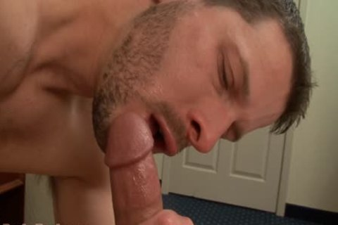 Clay Towers Enjoys This Bearded brunette hair