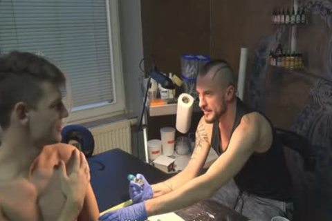 naughty Sex For cash In A Tattoo Studio