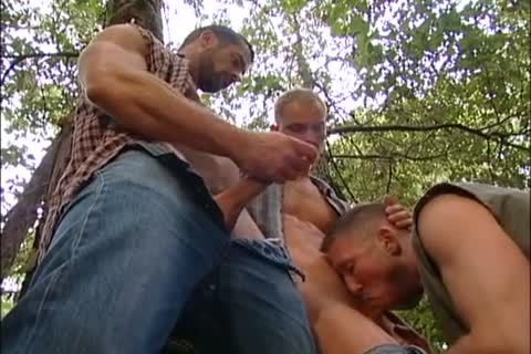 pounding And Fisting In The Forest: Dirk Jager, Lars Svensen & Rick Van Sant