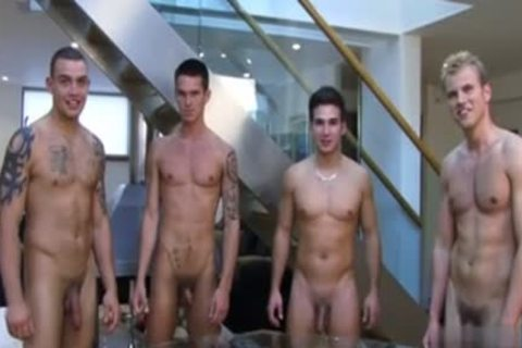 Muscle homosexual Rimjob And cumshot