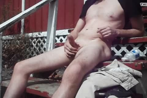 Outdoor pleasure On Sunny Day, cum discharged