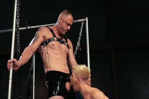 lusty homosexual Fetish With Facial