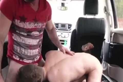 wicked daddy bangs His Step Son In A Car - FAMI