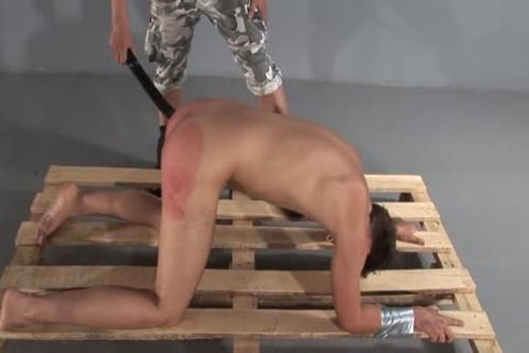Humiliating torture thrashing two