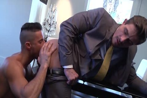 Muscle homo a bit of butthole With cumshot