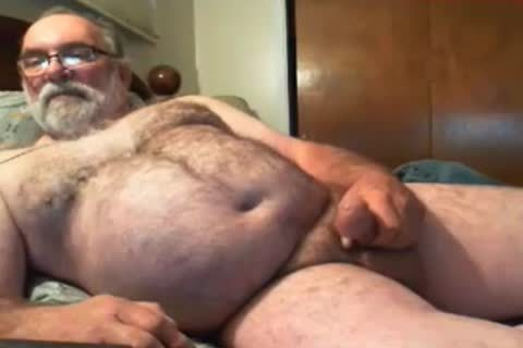grandpa Jim sperm On webcam