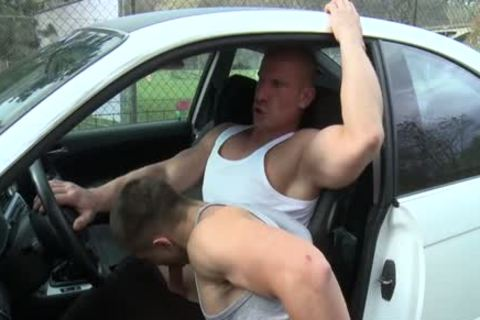 Muscle Daddy ass sex And cumshot