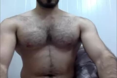Iraqi nice-looking Muscle best Face Cumshoot Ever