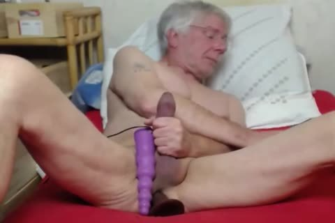 old man jerk off On cam