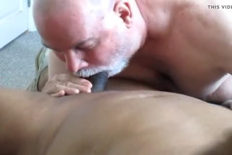 Flowing Nutt From A large Dicked darksome Daddy.