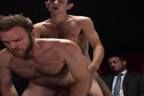 MormonBoyz - Two Missionaries poke As castigation For Priest Daddy