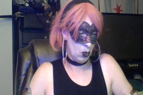 slutty Dancing Goth CD web camera Show (part two Of two)