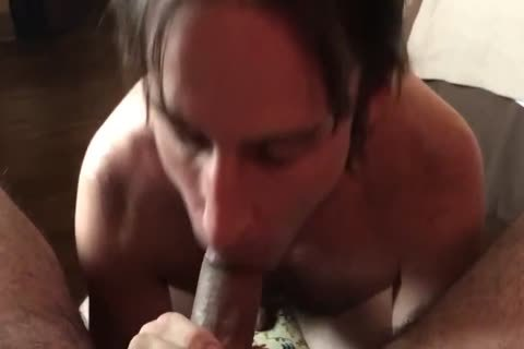 sucking A small Uncut penis For A large Load!