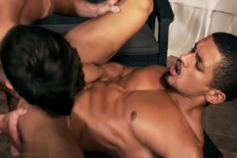 Latin homosexual Flip Flop And ejaculation