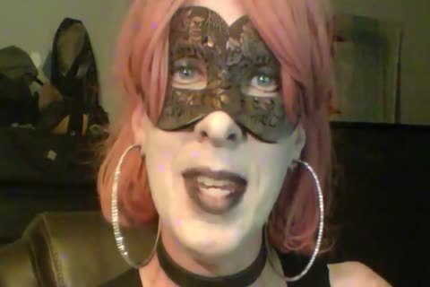 lusty Dancing Goth Cd cam Show Part 2 Of 2