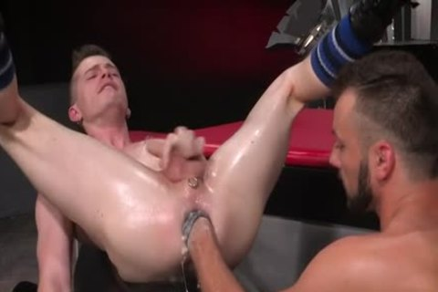 stunning homosexual Fetish With goo flow