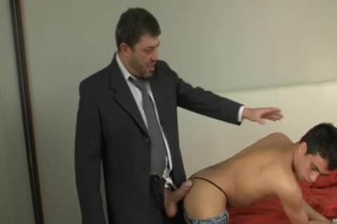 Straight massive rod Daddy Shows Bubble Bottom How To nail