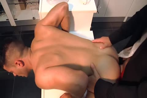 Two dirty studs Having Sex In The Shop
