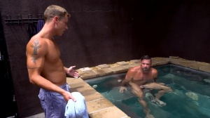 What's In The cute Tub? - Justin Matthews with Shane Jackson Jerking fuck