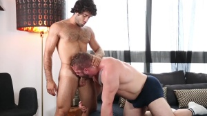 cum To Your Senses - Diego Sans and Daxx Carter Athlete nail
