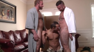 My Two Daddies - Charlie Harding and Luke Adams anal nail