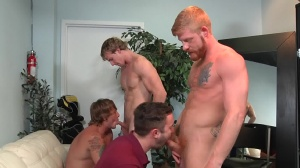 Swingers - Cameron Foster and Bennett Anthony booty stab