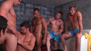 Bump! - Colt Rivers and Jack King butthole Hump