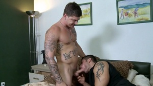 Setting Up The Roommate - Marcus Ruhl with Sebastian young butthole Hump