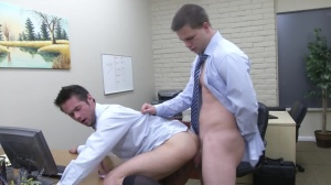 The Office hoe two - Mike De Marko with Jimmy Johnson ass hammer