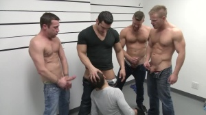 The Line Up - Landon Conrad, Trevor Knight anal Hook up