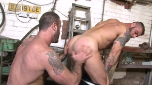 Late For Work - Spencer Reed & Alex Marte butthole job
