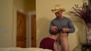 The Ranch Hand - John Magnum and Allen Lucas ass poke