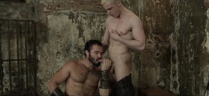 homosexual Of Thrones - Jessy Ares, JP Dubois anal hammer