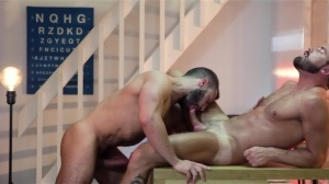 Mind Blown - Diego Reyes with Logan Moore butthole Hump