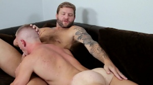 Straight man's skank - Colby Jansen and Scott Riley ass job