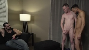 1 master two Bottoms - butthole Scene
