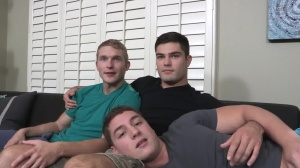 bareback threesome With Pete, Tanner, And Forrest - ass Sneak Peek